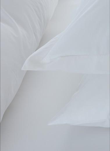 Penelope Catrine Percale Easy Care Nevresim Seti Beyaz Tek Kişilik 160x220 Beyaz